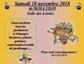 affiche jardi troc 10 novembre 2018 fond bicolore