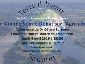 Saumur Terre d'Avenir Soirée Agriculture
