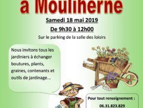 1 Affiche jardi'troc Mouliherne 18 mai 2019